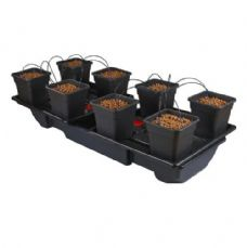 Wilma Wide XL 8 Pot ( 25 Litres ) Complete Dripper System ( NEW STYLE )